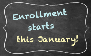 Enrollment starts this January!